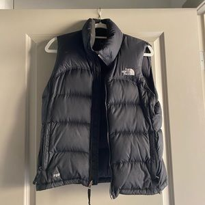 The North Face Black 700 Down Puffer Vest